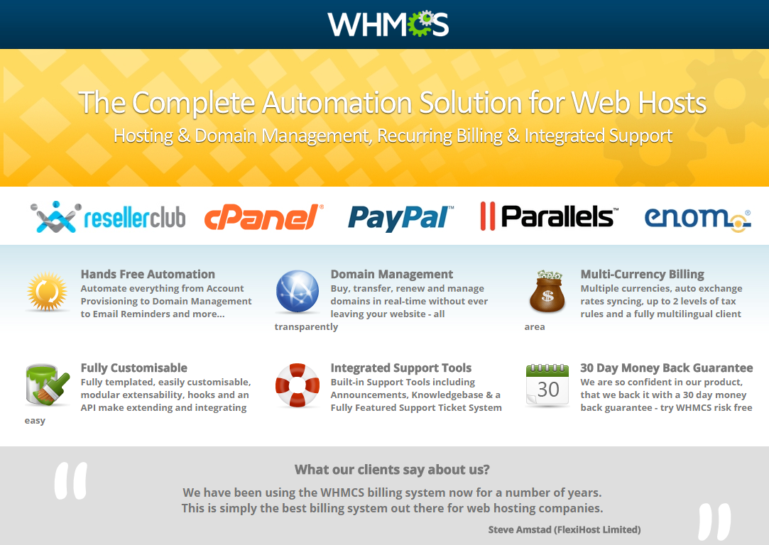 AOX HOST – A Professional Hosting Theme + WHMCS, Gobase64