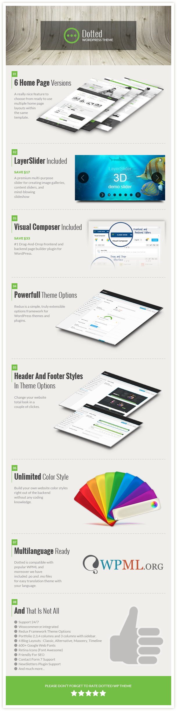 Description Dotted - Corporate Multipurpose WordPress Theme