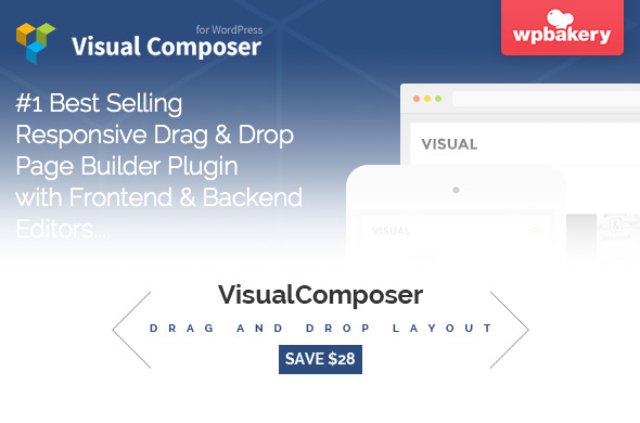 Visual Composer Drop & Drag page buider