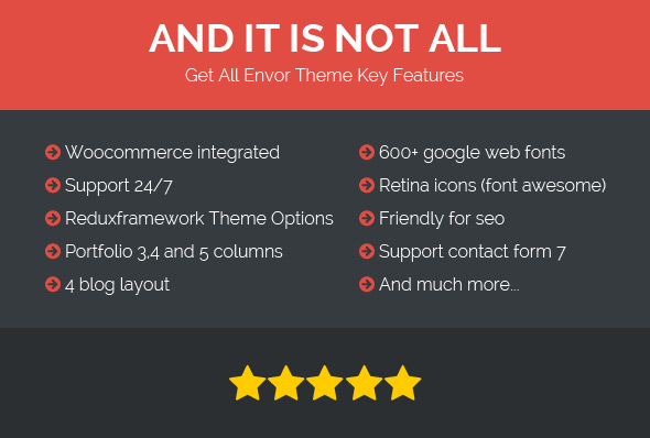 Envor - Fully Multipurpose WordPress Theme