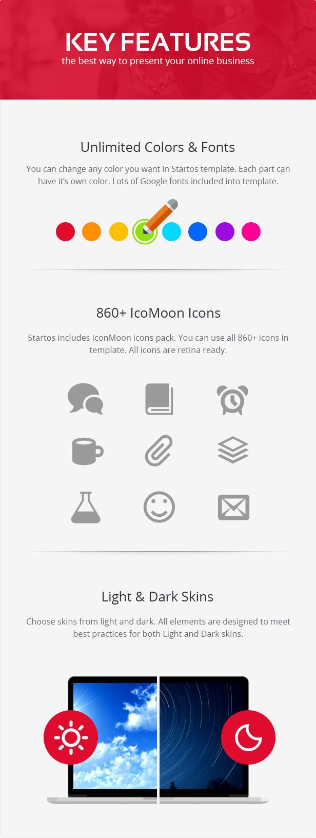 Startos - Modern App Landing Page WordPress Theme - 3