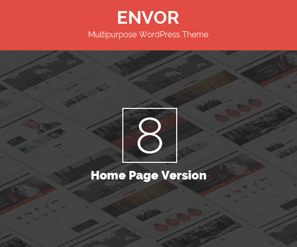 8 Home Page Style