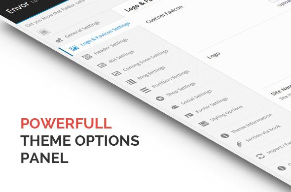 Theme Options with Reduxframework